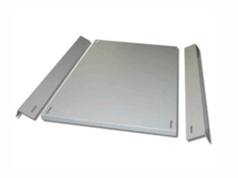 New support Plate with 2 brackets
