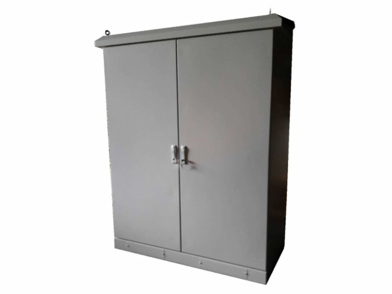 Outdoor cabinet  (with air conditioner)