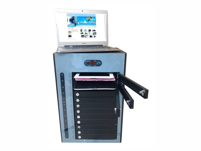 12 Devices Charger & Sync Cabinet
