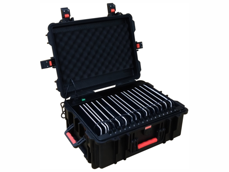 USB charger suitcase